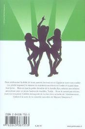 Galism, soeurs de choc t.2 - 4ème de couverture - Format classique