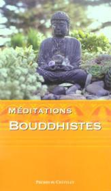 Méditations bouddhistes - Couverture - Format classique