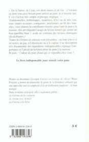 Les Bons Pains A Faire A La Maison - 4ème de couverture - Format classique