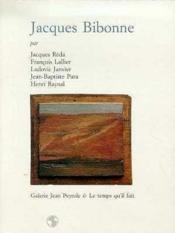 Jacques Bibonne - Couverture - Format classique
