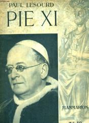 Pie Xi. - Couverture - Format classique