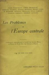 Les Problemes De L'Europe Centrale - Couverture - Format classique