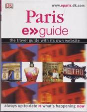 Vente livre :  Paris ; e-guide  - Collectif