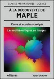 A La Decouverte De Maple, Les Mathematiques En Images - Intérieur - Format classique