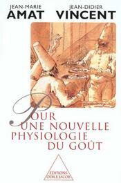 Pour Une Nouvelle Physiologie Du Gout - Intérieur - Format classique