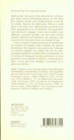 Des Nouvelles De La Maison Bleue - 4ème de couverture - Format classique