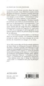 Circonstances Particulieres T.1 ; Histoires - 4ème de couverture - Format classique