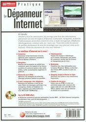 Le Depanneur Internet - 4ème de couverture - Format classique