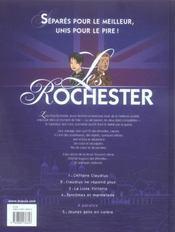 Les rochester t.4 ; fantômes et marmelade - 4ème de couverture - Format classique