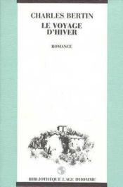 Voyage D'Hiver - Couverture - Format classique