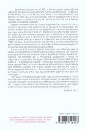 La Justice Des Forbans - 4ème de couverture - Format classique