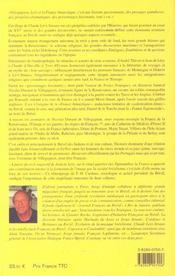 Nicolas Durand De Villegagnon Ou L'Utopie Tropicale. La Stupéfiante Épopée De La France Au Brésil - 4ème de couverture - Format classique