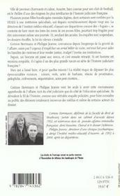 Les disparues d'auxerre ; affaire emilie louis - 4ème de couverture - Format classique