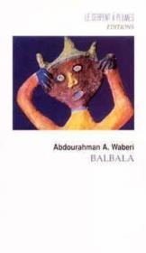 Balbala - Couverture - Format classique