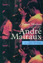 Le cinéma selon André Malraux - Couverture - Format classique