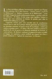 La Mediterranee A Feu Et A Sang ; Poetique Du Recit De Guerre - 4ème de couverture - Format classique