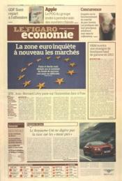 Figaro Economie (Le) N°21045 du 30/03/2012 - Couverture - Format classique