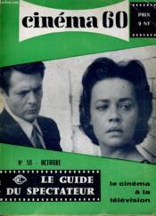 CINEMA 60 N° 50 - Les comiques américains: le spectateurs comique par Michel Mardore - Couverture - Format classique