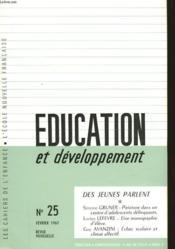 Education Et Developpement - N°25 - Couverture - Format classique