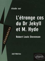 Étude sur dr Jekyll et mr Hyde ; Stevenson - Intérieur - Format classique