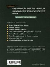 Étude sur dr Jekyll et mr Hyde ; Stevenson - 4ème de couverture - Format classique