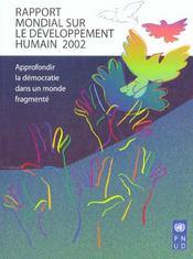 Rapport Mondial Sur Le Dev. Humain 2002 - Intérieur - Format classique