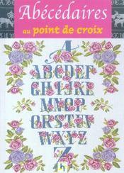 Abecedaires Au Point De Croix - Intérieur - Format classique
