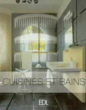 Cuisines Et Bains - Couverture - Format classique