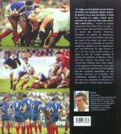 Les stars francaises de rugby t.2 - 4ème de couverture - Format classique