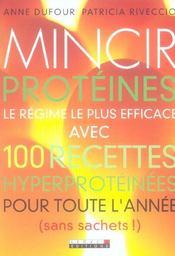 Mincir proteines - Intérieur - Format classique