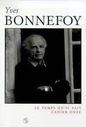 Cahier Bonnefoy - Couverture - Format classique