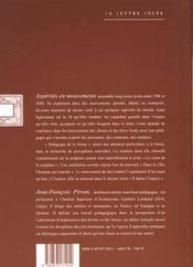 Asperites En Mouvements - 4ème de couverture - Format classique