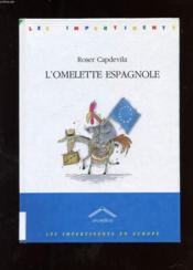 L'omelette espagnole - Couverture - Format classique