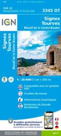 Signes, Tourves, massif de la Ste-Baume ; 3345OT  - Collectif Ign