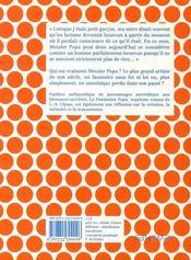 La fondation popa - 4ème de couverture - Format classique