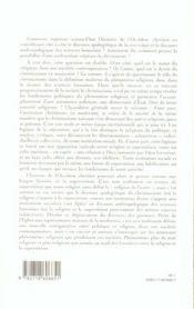 Superstition - 4ème de couverture - Format classique