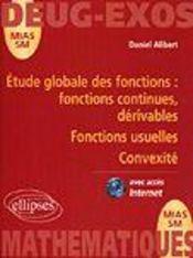 Étude globale des fonctions ; fonctions continues, dérivables ; fonctions usuelles ; convexité - Intérieur - Format classique