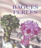 20 modeles de bagues en perles - Intérieur - Format classique