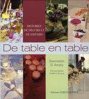 De table en table, histoires de décors et de saveurs - Intérieur - Format classique