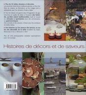 De table en table, histoires de décors et de saveurs - 4ème de couverture - Format classique