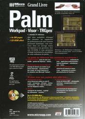 Grand livre palm - 4ème de couverture - Format classique