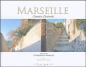 Marseille, chemins d'intimité - Couverture - Format classique