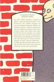 Chez Les Fous N44 - 4ème de couverture - Format classique