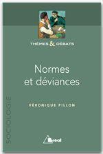 Normes et déviances - Couverture - Format classique