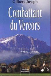 Combattant Du Vercors - Couverture - Format classique