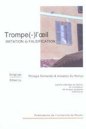 Trompe(-)L'Oeil. Imitation Et Falsification - Intérieur - Format classique