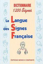 La langue des signes fançaise - Intérieur - Format classique