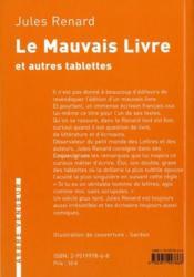 Mauvais Livre (Le) - 4ème de couverture - Format classique