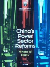 China's power sector reforms - Couverture - Format classique
