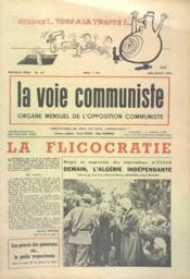 Voie Communiste (La) N°23 du 01/06/1961 - Couverture - Format classique
